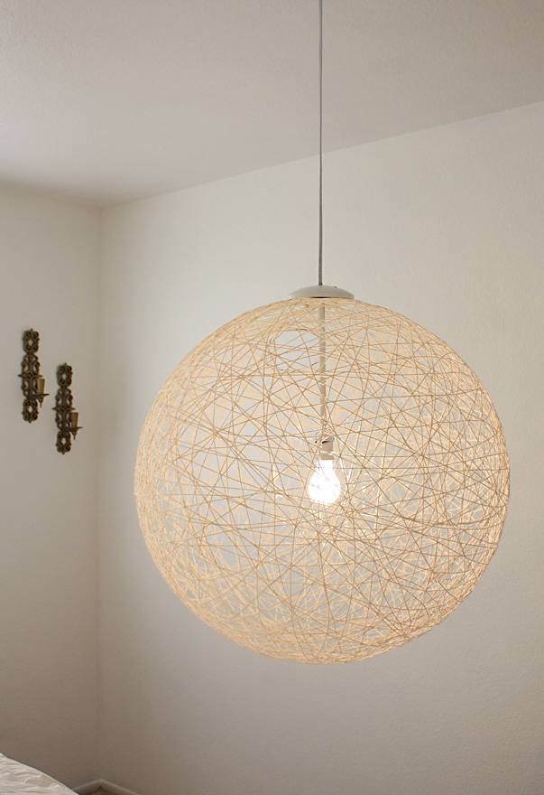 My finished diy pendant light via made by girl made by girl my finished diy pendant light via made by girl mozeypictures Image collections