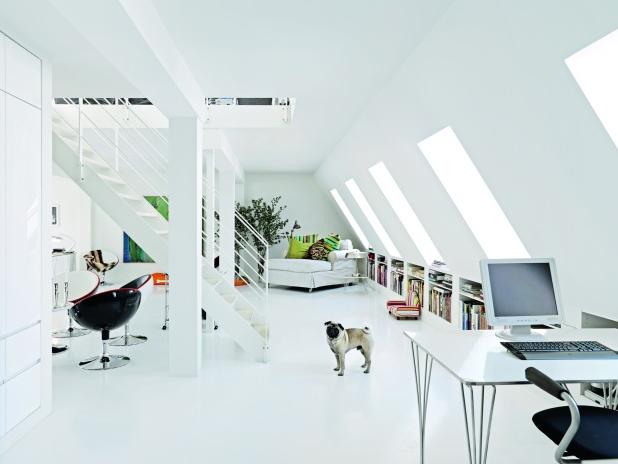 White interior....via Bolig - Made By Girl